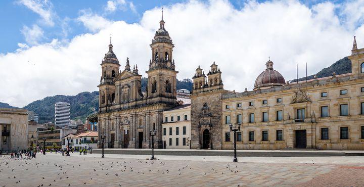 Der Hauptplatz Plaza Bolivar zählt zu den wichtigsten Sehenswürdigkeiten der Stadt.