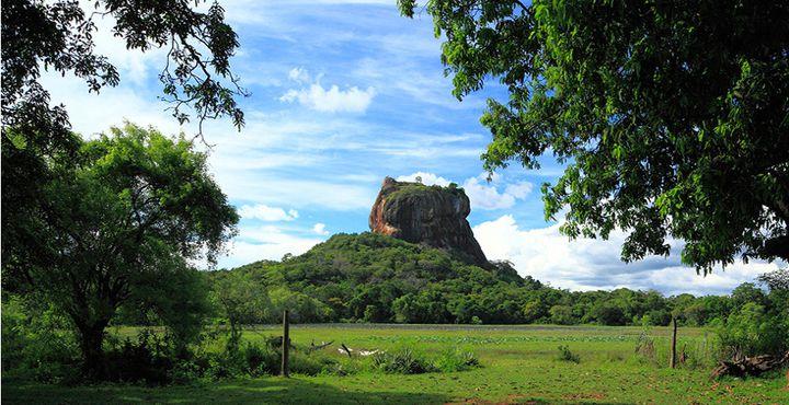Der Löwenfelsen in Sigiriya