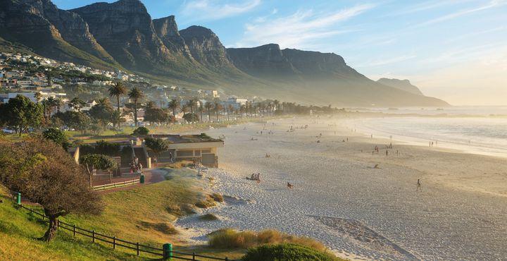 Die Promenade von Kapstadt ist besonders in den Abendstunden sehr beliebt.