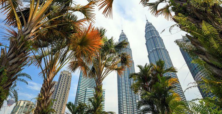 Die Petronas Towers gehören sicherlich zu den beliebtesten Fotomotiven.