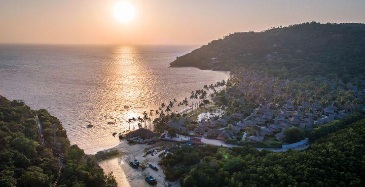 Der traumhafte Sonnenuntergang über Koh Phi Phi Don wird auch Sie in Ihren Bann ziehen.