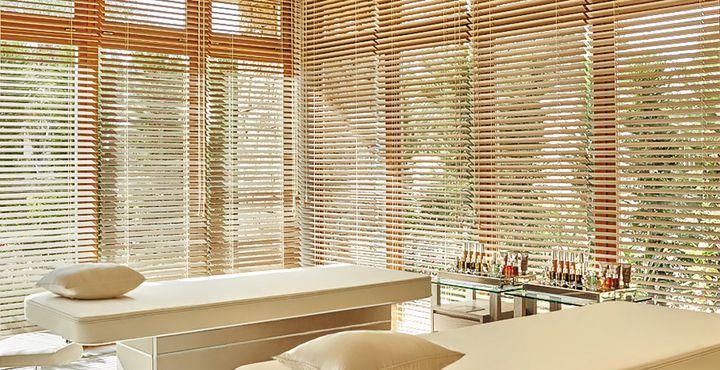 Der Spa Retreat bietet wohltuende Behandlungen, ein Dampfbad und Paar-Suiten.