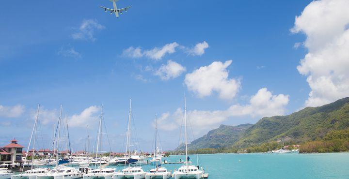 Segeln Sie an Bord des Katamarans Mojito 82 in nur 4 Tagen von der Insel Praslin bis zu Insel Curieuse.