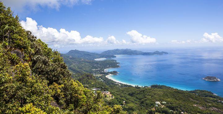 Angekommen auf der größten Insel der Seychellen - Mahé.