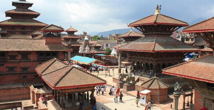 Ihr erstes Ziel ist Kathmandu. Zahlreiche Tempel und Pagoden erwarten Sie.