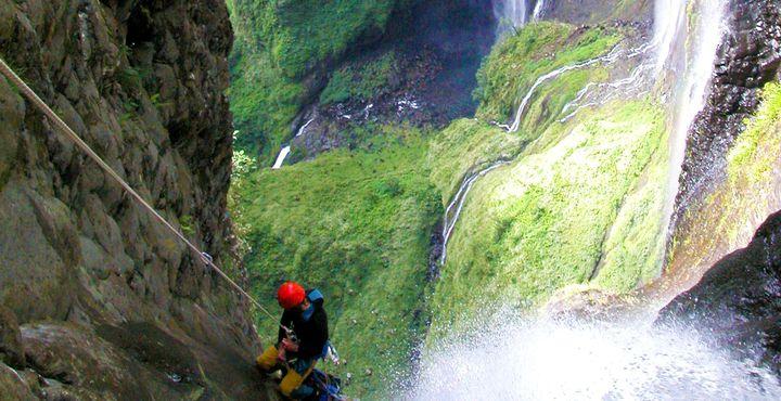 Adrenalin pur erleben Sie beim Canyoning ©IRT MMM.