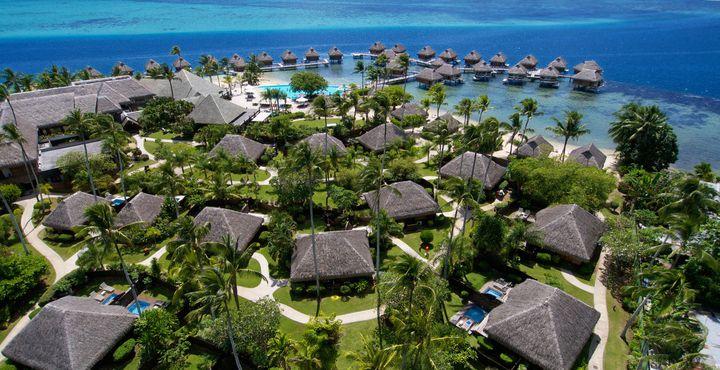 Ihre erste Unterkunft ist das luxuriöse Manava Beach Resort & Spa Moorea.