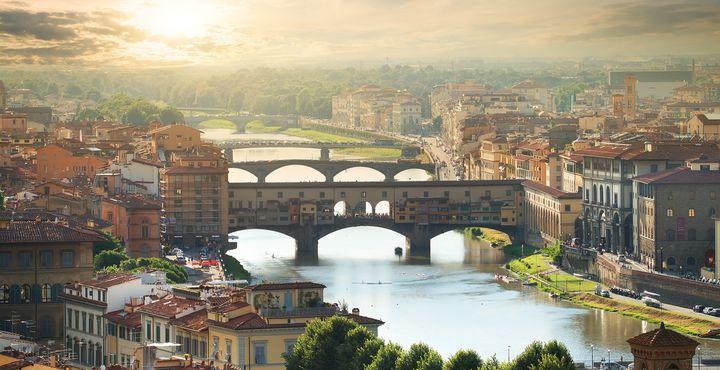 Natürlich steht auch Florenz, die größte Kunstmetropole der Welt, auf Ihrem Reiseplan.