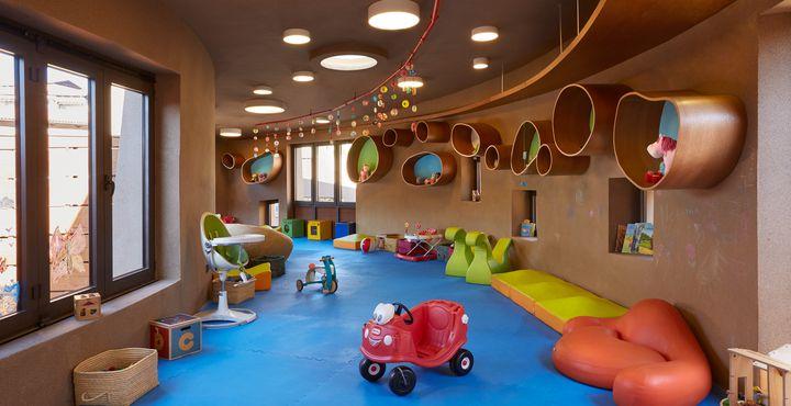 Im Kids-Club Cocoon werden Ihre Kinder fürsorglich betreut.