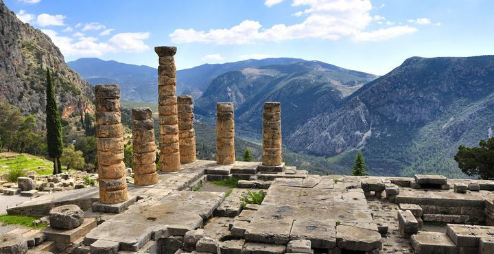 Seit 1987 gehören die Ausgrabungen in Delphi zur Liste des Weltkulturerbes der UNESCO. Hier können Sie die spektakuläre Architektur bewundern.