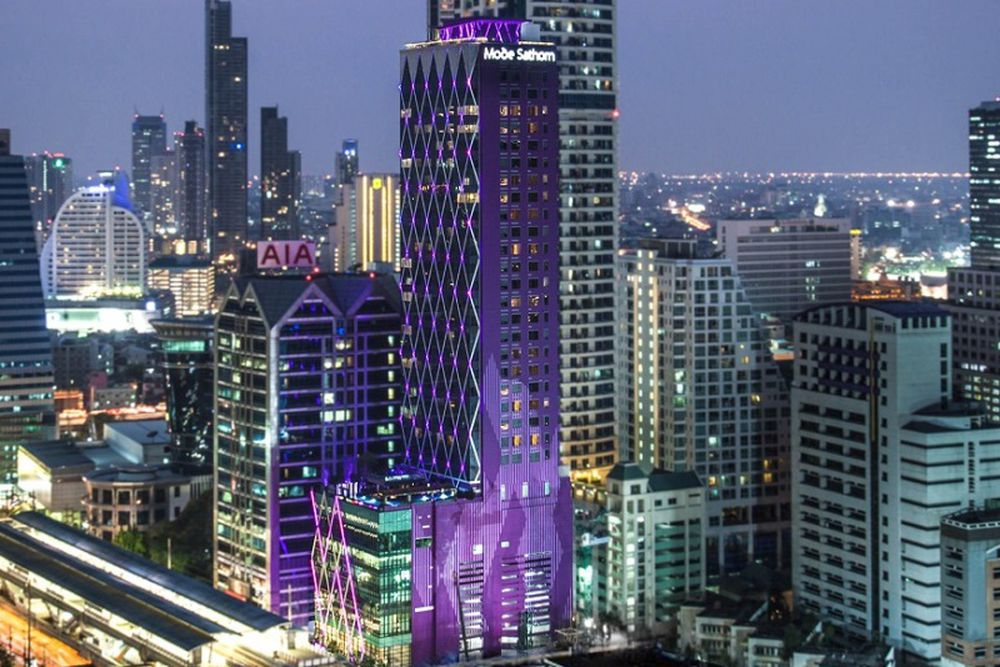 Mode sathorn hotel for Trendige hotels