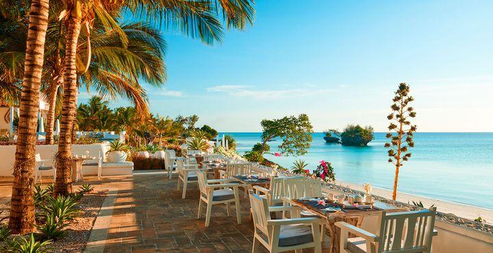 Im hauseigenen Restaurant werden Ihnen frische Produkte vom Land und aus dem Meer serviert.