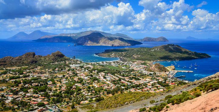 """Ihr erstes Ziel ist die größte Insel des Archipels """"Lipari""""."""