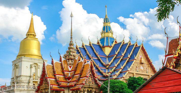 Selbstverständlich darf der Besuch des Tatoo Tempels, Wat Bang Phra, nicht fehlen.