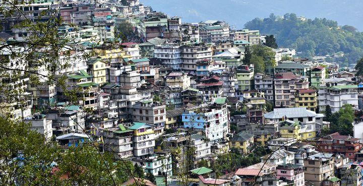 In Gangtok, die Haupstadt von Sikkim, verbringen Sie zwei erlebnisreiche Tage.