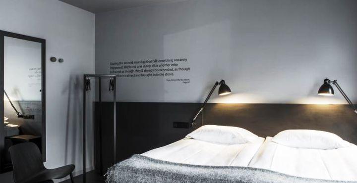 Das Skuggi Hotel überzeugt mit modernem Komfort und gemütlicher Einrichtung.