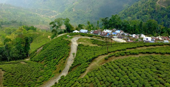 Hier in Darjeeling erleben Sie Indien von seiner schönsten Seite.