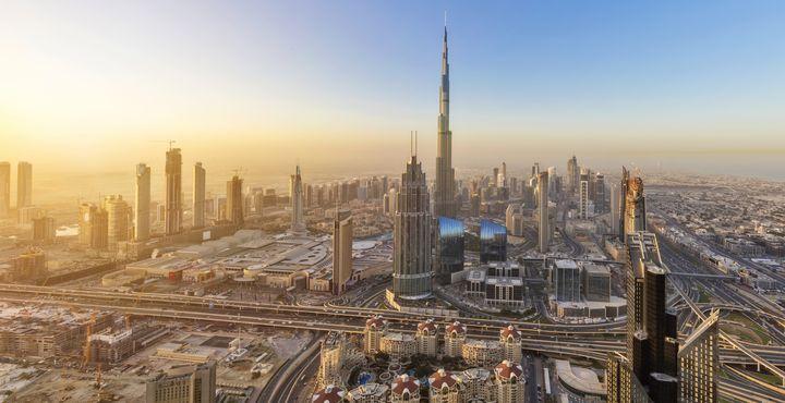 Das höchste Gebäude der Welt verspricht eine spektakuläre Aussicht über die Stadt Dubai und die Umgebung.