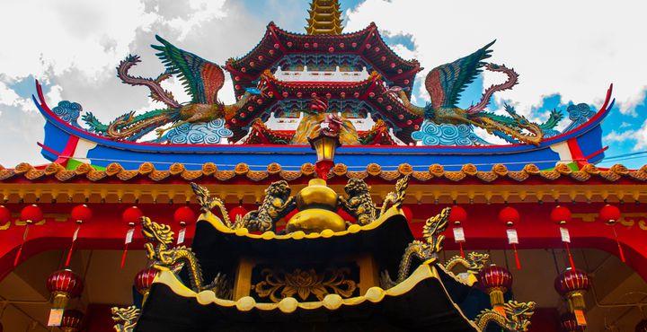 In Kuching wartet ein interessanter Stopp am Tua Pek Kong Tempel auf Sie.
